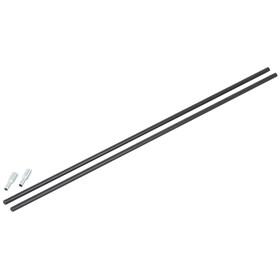CAMPZ - Segment d'arceau fibres de verre 8mm/0,55m - noir